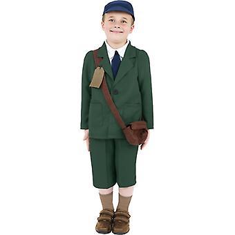 Zweiter Weltkrieg, Evakuierter Junge Kostüm