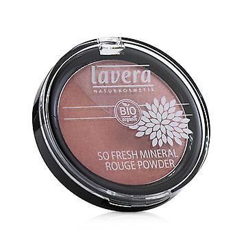 Lavera So Fresh Mineral Rouge Powder - # 07 Columbine Pink - 4g/0.14oz