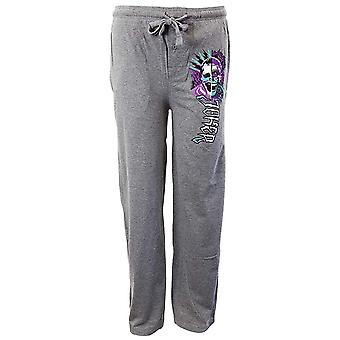 Suicide Squad Joker Grey Heather Lounge Pants