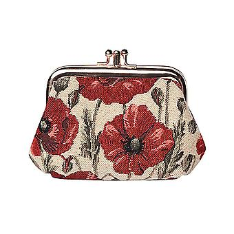 Poppy women's coin purse by signare tapestry / frmp-pop