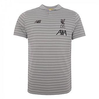 2019-2020 Liverpool Travel Polo Shirt (Grey)