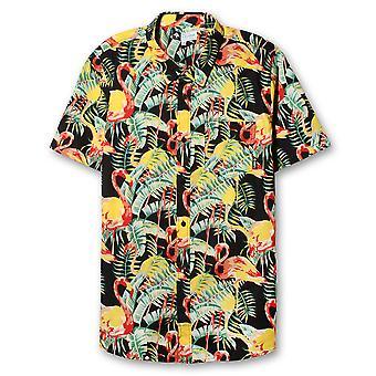 LRG Toucan Do It Short Sleeve Shirt Black