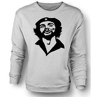 Womens Sweatshirt Che Guevara Smoking Cigar