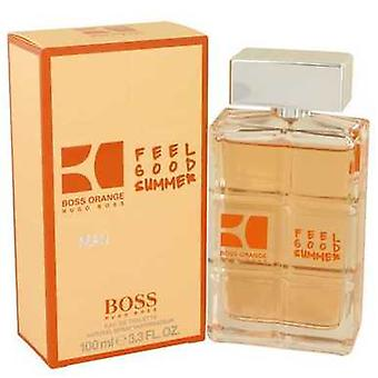 Boss Orange Feel Good Summer By Hugo Boss Eau De Toilette Spray 3.3 Oz (men) V728-537207