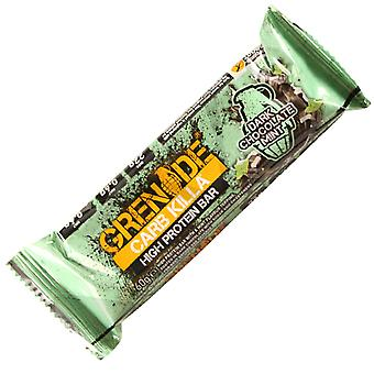3 x Individual Grenade 60g Dark Chocolate Mint Carb Killa Bars