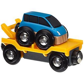 Transporter samochodów BRIO - niebieski