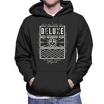 Divide & Conquer Deluxe Surf Co Men's Hooded Sweatshirt