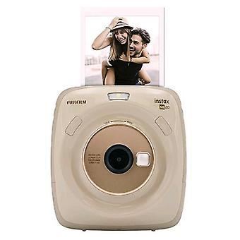 Fujifilm instax square sq20 camera flash development beige