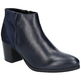 Riva Womens Claudia Leather/Suede Ankle Boot