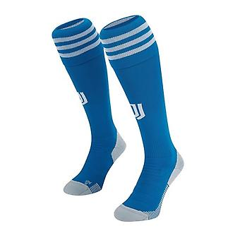 2019-2020 Juventus Adidas Third Football Socks (Blue)