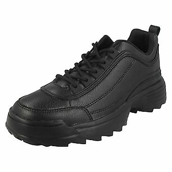 Reflex Womens/Ladies Lace Up Trainers