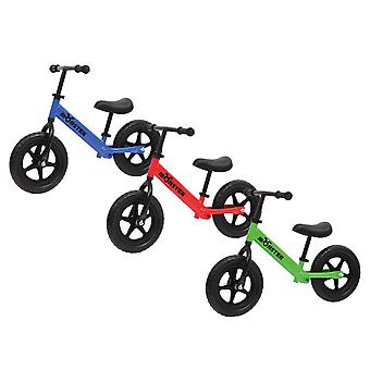 Charles Bentley Kids Monster Balance Bike mit Adjustable Cushioned Seat Soft Rubber Handle-3-5 Jahre