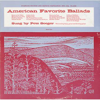 Pete Seeger - Pete Seeger: Seeger, Pete: Vol. 1-American Favorite Ballads [CD] USA import