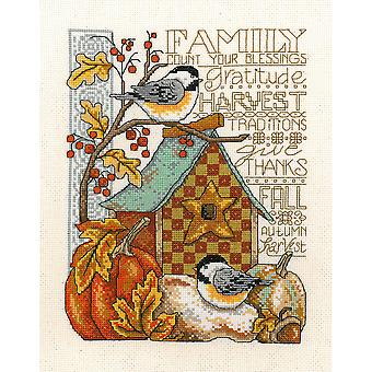 Family Blessing Counted Cross Stitch Kit-8