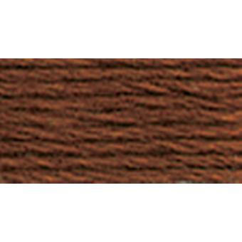 Dmc Six Strand Embroidery Cotton 100 Gram Cone Mahogany Very Dark 5214 300