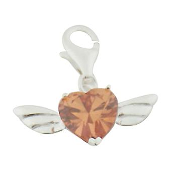 Sterling silver pendant charm Wings BC1005B