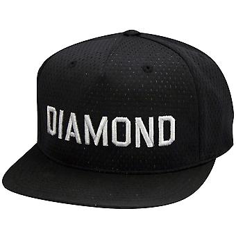 Diamond Supply Co Jackson Snapback Mesh Black
