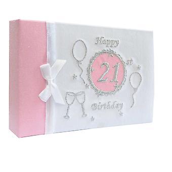 50 Photos Album Happy 21 Birthday Bright Satin 5in x 3in Birthday Gifts