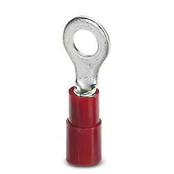 Ring terminal Cross section (max.)=1.5 mm² Hole Ø=6.5 mm Partially insulated Red Phoenix Contact 3240020 100 pc(s)
