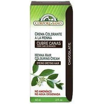Corpore Sano Henna Colouring Cream Chocolate 60 Ml