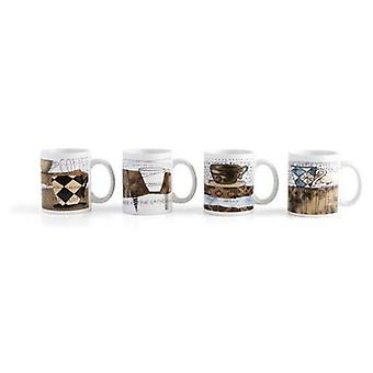 Quid Assortment Mug 33 Cl Koffie (Kitchen , Household , Mugs and Bowls)