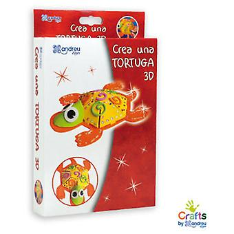 Crafts by Andreu Toys Create A 3D Turtle