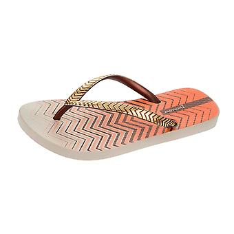 Ipanema Trends VII Womens Flip Flops / Sandals - Beige Bronze