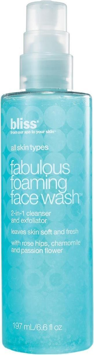 Bliss Fabulous Foaming Facial Wash