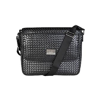 V 1969 Unisex Crossbody Bags Black