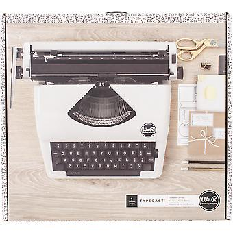 We R Typecast Typewriter-White WRTYPE-63063