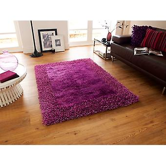 Luxurious Dense High Quality Purple Shaggy Rug - Santa Clara