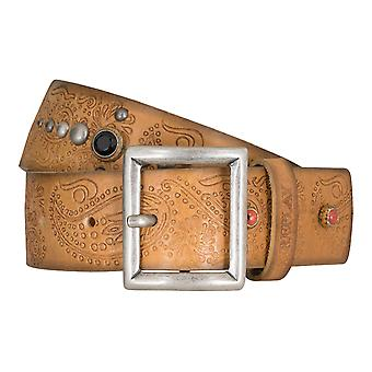 Replay belt women's belts leather belt Womens Leather camel 5344