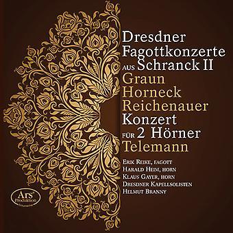 Graun, Johann / Horneck, Graun / Branny, Helmut - importación de Estados Unidos de concierto para fagot de Dresden [SACD]