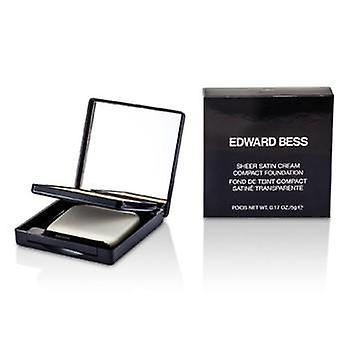 Edward Bess Sheer Satin Cream Compact Foundation - #01 Light - 5g/0.17oz