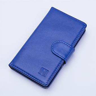 Book wallet + stylus for Alcatel Pixi 4 (3.5) - Deep Blue