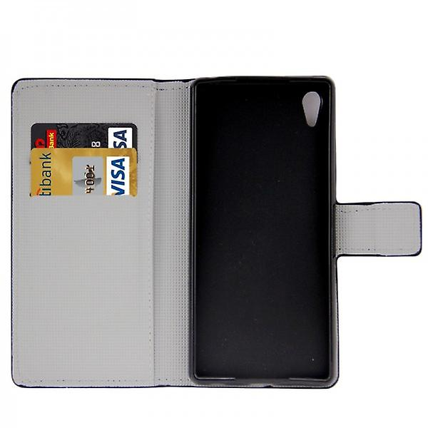 Pocket wallet premium pattern 8 for Sony Xperia Z3 plus