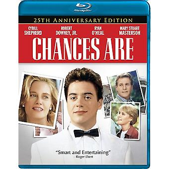 Chanserna är: 25th Anniversary Edition [BLU-RAY] USA import