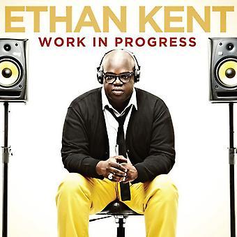 Ethan Kent - igangværende arbejde [CD] USA import