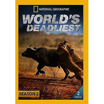 Verdens Deadliest: sæson 2 [DVD] USA import