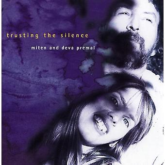 Deva Premal & Miten - tillidsfuld stilhed [CD] USA importen
