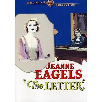Letter (1929) [DVD] USA import