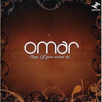 Omar - Sing (hvis du ønsker det) [CD] USA importerer