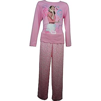 Disney Violetta Girls Long Sleeve Pyjama Set OE2219 cf9eda1b8
