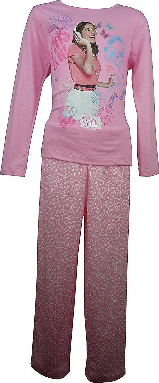 ディズニー ヴィオレッタ女の子長袖パジャマ セット OE2219
