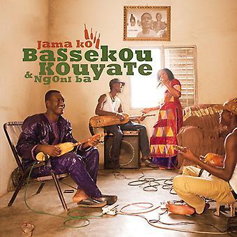 Bassekou Kouyate & Ngoni Ba - Jama Ko [CD] USA importerer