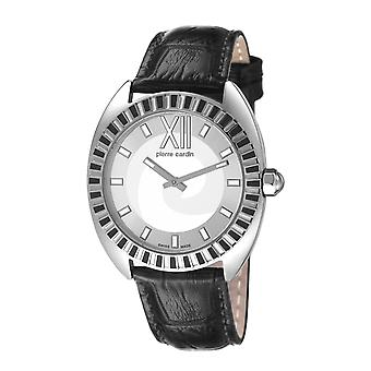 Pierre Cardin ladies watch Levant Fantaisie silver/black