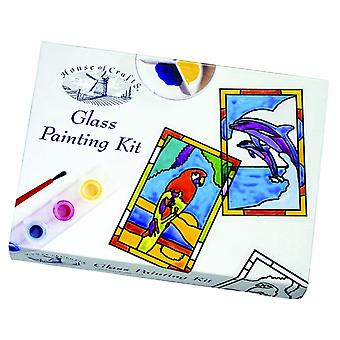 House of Crafts Glass Painting Kit