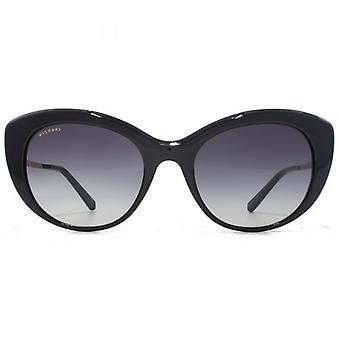 Bvlgari Cateye Sunglasses In Black