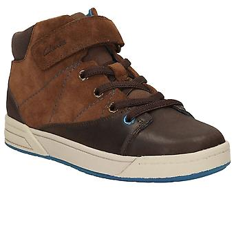 Clarks Yopic Hi Boys Infant Boots