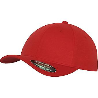 Flexfit DOUBLE JERSEY Stretchable Cap - Red